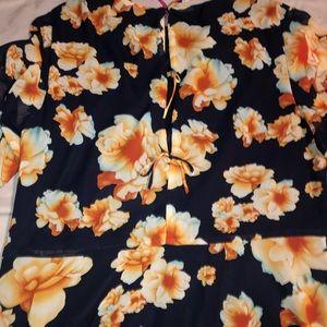 Fun flirty twirly shirt dress